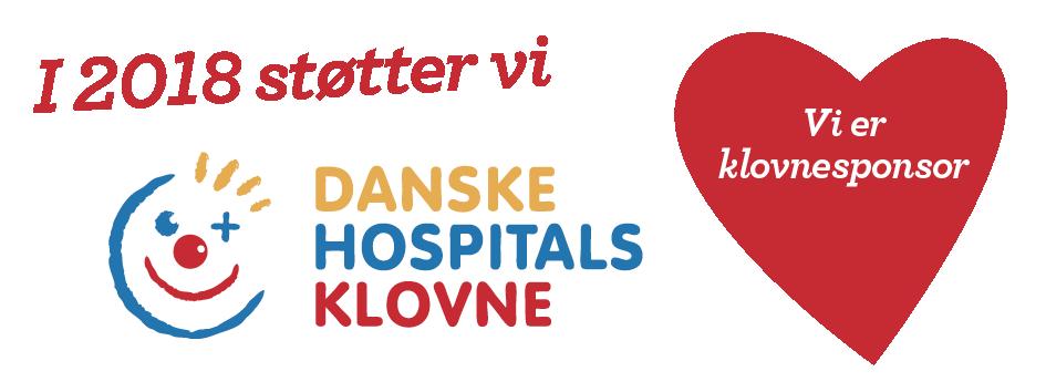 Vi støtter danske hospitalsklovne
